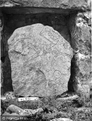 Huntly, Leith Hall, Pictish Stone, The Wolf Stone 1961