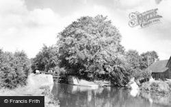 The Canal Lock c.1950, Hunton Bridge