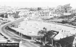 Hurlford, Aerial View c.1955