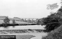 Hurlford, River Irvine At Struthers Steps c.1955