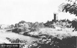 Hurlford, River Irvine c.1955