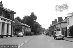 London Road c.1965, Hurst Green