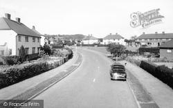 Pollard Oak Road c.1965, Hurst Green