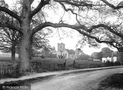 St John's Church And Churchway 1930, Hurst Green