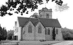 St John's Church c.1955, Hurst Green