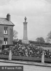Hurst Green, War Memorial c1950