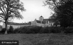Hurstpierpoint, College c.1955