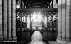 Hurstpierpoint, College Chapel Interior c.1955