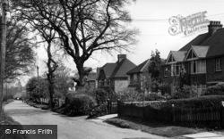 Hurstpierpoint, College Lane c.1955