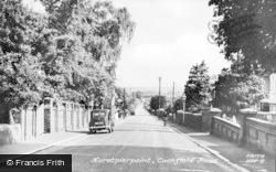 Hurstpierpoint, Cuckfield Road c.1955