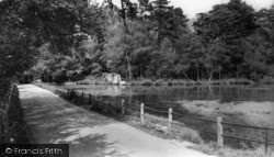 Hurstpierpoint, Danny House Lake c.1960