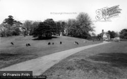 Hurstpierpoint, Danny House, The Grounds And Lodge c.1960