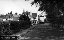 Hurstpierpoint, Entering The Village c.1955
