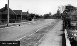 Hurstpierpoint, Fairfield Crescent c.1960