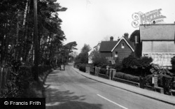 Hurstpierpoint, Hassocks Road c.1955