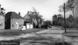 Hurstpierpoint, Hassocks Road c.1960