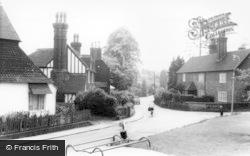 Hurstpierpoint, Hassocks Road c.1965