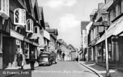 Hurstpierpoint, High Street c.1955