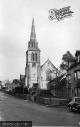 Hurstpierpoint, Holy Trinity Church 1955