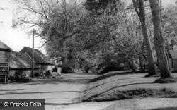 Hurstpierpoint, New Way Lane c.1960