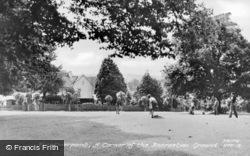 Hurstpierpoint, Recreation Ground c.1955