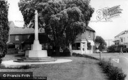 Hurstpierpoint, The Memorial c.1965