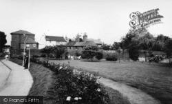 Hurstpierpoint, The Village Centre c.1955
