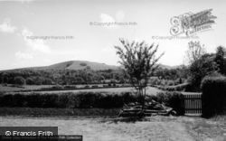 Hurstpierpoint, View From Torch House c.1960
