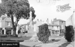 Hurstpierpoint, War Memorial c.1955