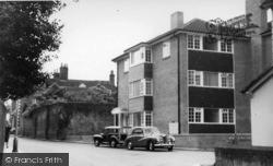 Hurstpierpoint, West Furlong Flats c.1960