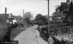Hurstpierpoint, Western Road c.1955