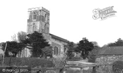 Huttoft Bank, St Margaret's Church c.1960, Huttoft
