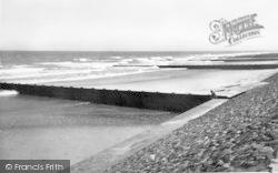 Huttoft Bank, The Beach c.1960, Huttoft