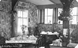 Huttoft Bank, The Rose Bowl Cafe, Interior c.1960, Huttoft