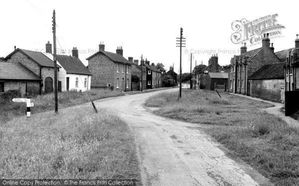 The Village c1960, Hutton Cranswick