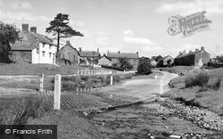 Hutton-Le-Hole, The Water Crossing c.1955
