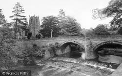 Hutton Rudby, All Saints Church And Bridge c.1965