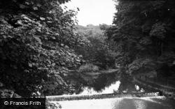 Hutton Rudby, River Leven c.1955