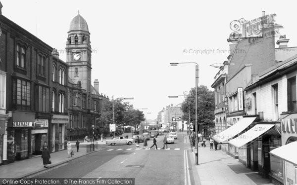 Hyde, Market Street 1968
