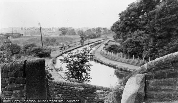 Photo of Hyde, The Canal c.1955