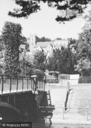 Hythe, Church From The Canal c.1945