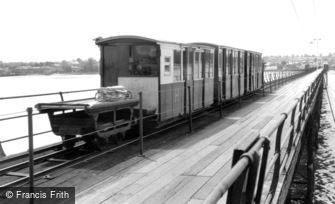 Hythe, Pier and Train c1960