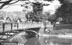 Hythe, The Bridge c.1955