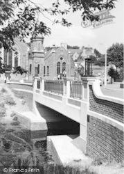 Hythe, The Bridge c.1960