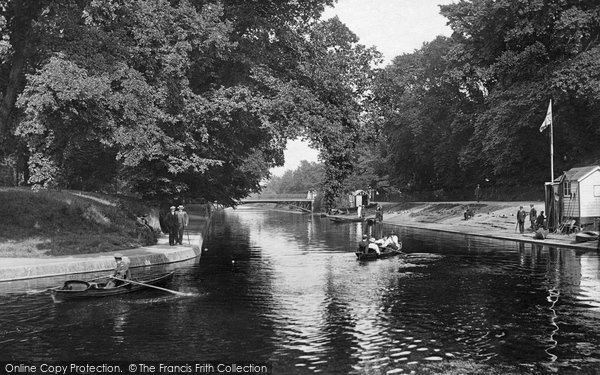 Photo of Hythe, the Canal 1918