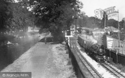 Hythe, The Canal And Miniature Railway c.1945