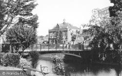 Hythe, The Canal Bridge c.1950