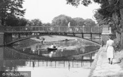 Hythe, The Canal Bridge c.1955