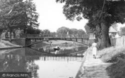 Hythe, The Canal c.1955