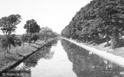 Hythe, The Canal From Twiss Bridge c.1955